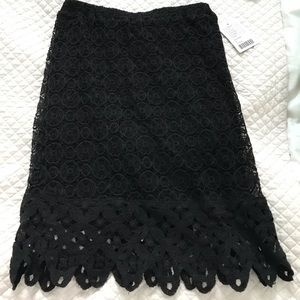 Anthropologie LIV Los Angeles lace skirt